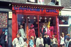 Carnaby Girl boutique on Carnaby Street, 1960s