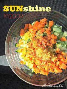 Ruokapankki: Aurinkoinen lisukesalaatti, kevyt!