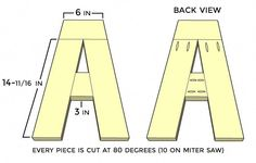 Ted's Woodworking Plans Wood Letter Plans: A - M Popular Woodworking, Woodworking Jigs, Woodworking Furniture, Furniture Plans, Woodworking Projects, Furniture Projects, Wood Furniture, Woodworking Articles, Woodworking Classes