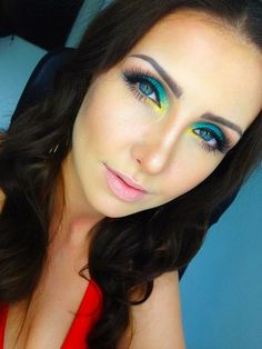 Turquoise and gold https://www.makeupbee.com/look.php?look_id=89719