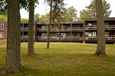 Summer camp at the YMCA of Simcoe/Muskoka, hotel accommodations