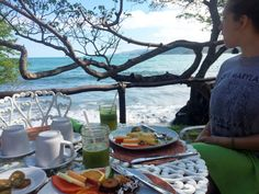 There's a view with your breakfast