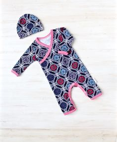 Want something cute, handmade, and unique for your baby? Look no further. This outfit is made just for your special little baby. Made from a soft,