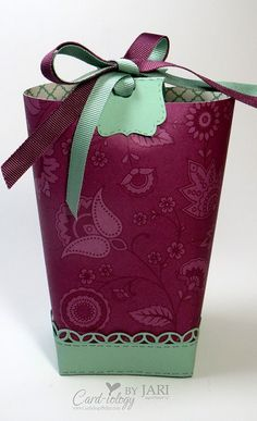 Box in a Bag - SU - Petals & Paisleys Box in a Bag Gift Bag                                                                                                                                                                                 More
