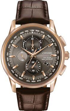 Citizen Eco-Drive Men's World Chronograph A-T Watch