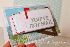 "My creative corner: ""Mail box"" card tutorial..."