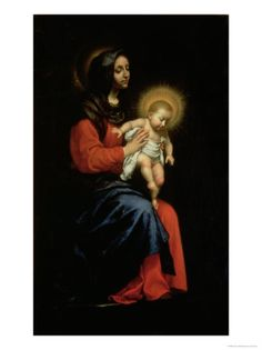 Behold Our Mother and Holy Queen! Madonna and Child by Carlo Dolci