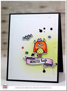 Paper Therapy: Avery Elle–Monster Hugs