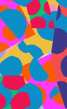 Pastel cut outs - Sarah Bagshaw