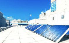 mirrors edge solar panels