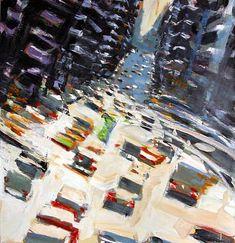 David Kapp #Art Go, 2008, oil on linen, 50″ x 48″