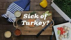 Thinking of shaking things up this Thanksgiving?  Here are a few ideas:  http://qoo.ly/jc3qs