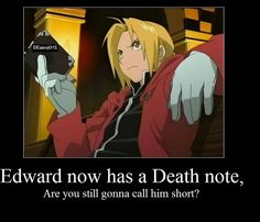 FMA and Death Note crossover!