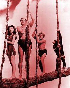 Tarzan And Jane & Family