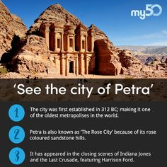 The ancient city of Petra has to be seen to be believed. Will you travel there on vacation to see it?