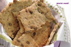 delantal o mandil: Galletas Cracker de semillas