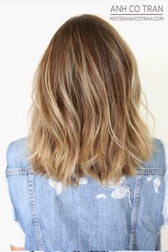 LA: SHOULDER LENGTH LAYERS. Cut/Style: Anh Co Tran. Appointment inquiries please call Ramirez|Tran Salon in Beverly Hills: 310.724.8167