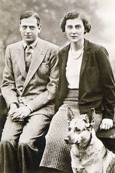 Prince George, Duke of Kent and his wife Marina. He is the fifth child and fourth son of King George V. and uncle of Queen Elizabeth II.