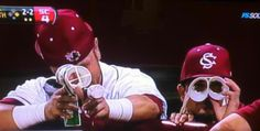 USC baseball players and their sense of humor/character! LOVE them <3