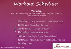 Kama Fitness and Nutrition: Beach Body 2 Week Challenge