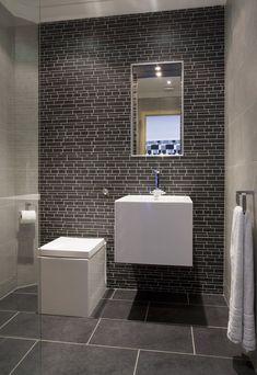 Gray Modern Bathroom