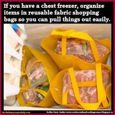 Dollar Store Crafter: Never Dig To The Bottom Of The Freezer Again ~ Fre...