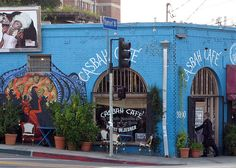 Casbah Cafe, Silverlake One of my favorite places to go.  Just spent $42 for brunch though