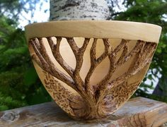 Inspiration to stretch our skills taken from Woodturning Magazine. May 2011, No.226 page 7 Richard Kennedy tutorial... this is our variation of