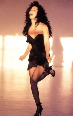 Cher 1990's - wearing her 1989 Bob Mackie Academy Awards dress