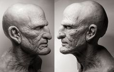 Uncle Creepy sculpt by joelharlow