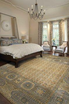 Mamluk Rug in Bedroom