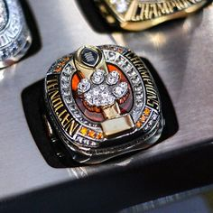 Find everything but the ordinary College Football Championship, Championship Rings, National Championship, Sports Today, Clemson Tigers, Gifts For Husband, Broncos, The Ordinary, Bling