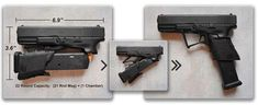 Full Conceal M3 FOLDING Glock 19 Pistols Now Shipping - The Firearm BlogThe Firearm Blog