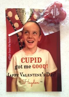 Valentine – Cupid Got Me Good! I Can only imagine what Viv could do with this one. She makes the best faces!