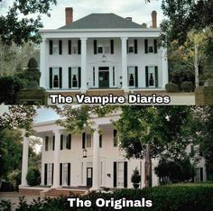 The Michaelsons house in the Vampire Diaries and he Origianals