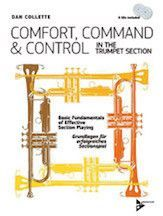 Comfort, Command & Control in the Trumpet Section (Book & CD)