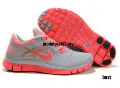 cozy fresh bce1b 24fb5 Discount Hot Punch Nike Free Run 3 Wolf Grey Bright Crimson 510643 061 For  Sale Save up Off! all great Nike Free Run 3 off