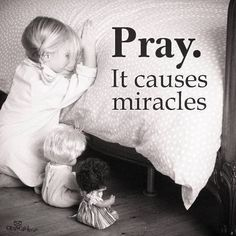 Miracles happen all the time. Life is a miracle. We need to Pray through Good and Bad, Happy and Sad. The true miracle is Jesus and that He died to give us eternal life! We are also miracles from Jesus because He created us! Image Jesus, Power Of Prayer, Spiritual Quotes, Word Of God, Christian Quotes, Gods Love, Bible Quotes, Prayer Quotes, Heart Quotes
