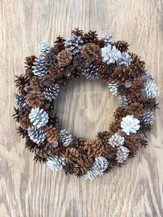 Items similar to Pinecone Wreath, Winter Wreath, Front Door Wreath, Holiday Wreath, Thanksgiving Wreath on Etsy - Natural Assorted Pinecone Wreath Winter Woods Wreath Sparkly - Wood Wreath, Diy Wreath, Tulle Wreath, Burlap Wreaths, Thanksgiving Wreaths, Holiday Wreaths, Winter Wreaths, Spring Wreaths, Summer Wreath