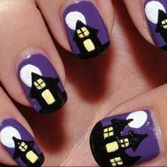 Uñas Halloween!