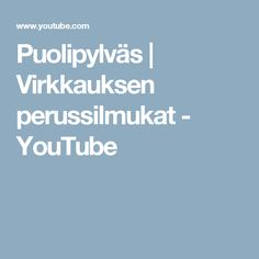 Puolipylväs | Virkkauksen perussilmukat - YouTube