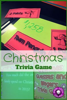 Christmas trivia game- making guesses and wagers. Practice estimation and reasonableness while having lots of holiday cheer. Fun and easy way to keep students engaged with math during the holiday season. Christmas Trivia Games, Christmas Math, Christmas Ideas, High School Chemistry, Chemistry Teacher, High School Classroom, Classroom Ideas, Math Intervention, Secondary Math