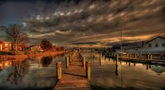 Evening On Solomons Island, Maryland by Michael Oberman on 500px