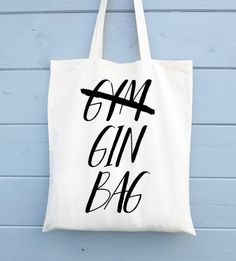 Who needs the gym when you have Gin anyway?