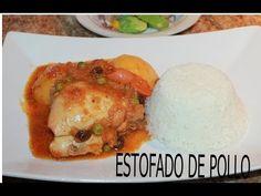 Estofado de Pollo - Receta Peruana Fácil y Rápido de preparar (SECRETO) Peruvian Dish - YouTube