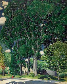 Marc-Aurèle Fortin Odilon Redon, Canadian Art, Paintings I Love, Sculpture, Objet D'art, Art Studies, Illustration Art, Exterior, Landscape