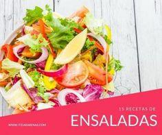 15 recetas de ensalada