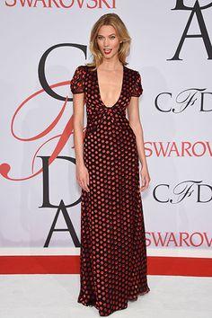 Karlie Kloss at the CFDA Awards