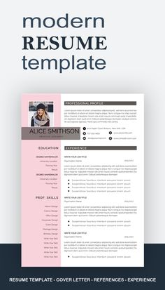 Resume template, Professional resume template instant download, Resume with photo, Resume design, resume template word, Curriculum vite, CV #careertips #jobsearching #marketing #resumenes #businesscards #careergrowth Basic Resume, One Page Resume, Resume Cv, Professional Resume, Teacher Resume Template, Modern Resume Template, Resume Words, Resume Writing, Word Cv
