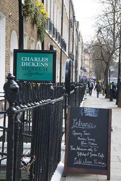 Charles Dickens Museum, Bloomsbury-  Photos taken by Vanessa Berberian